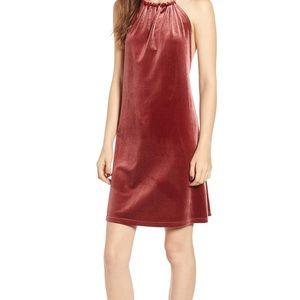 Rose Gold Halter Dress